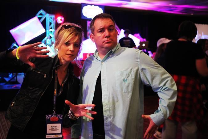 Dan Moriss and Rachel Martin