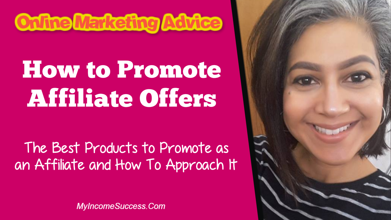 how to promote affiliate offers
