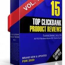 Top Clickbank Product Reviews 2020 PLR