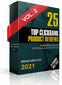 Top ClickBank Product Reviews PLR 2021-25 Products